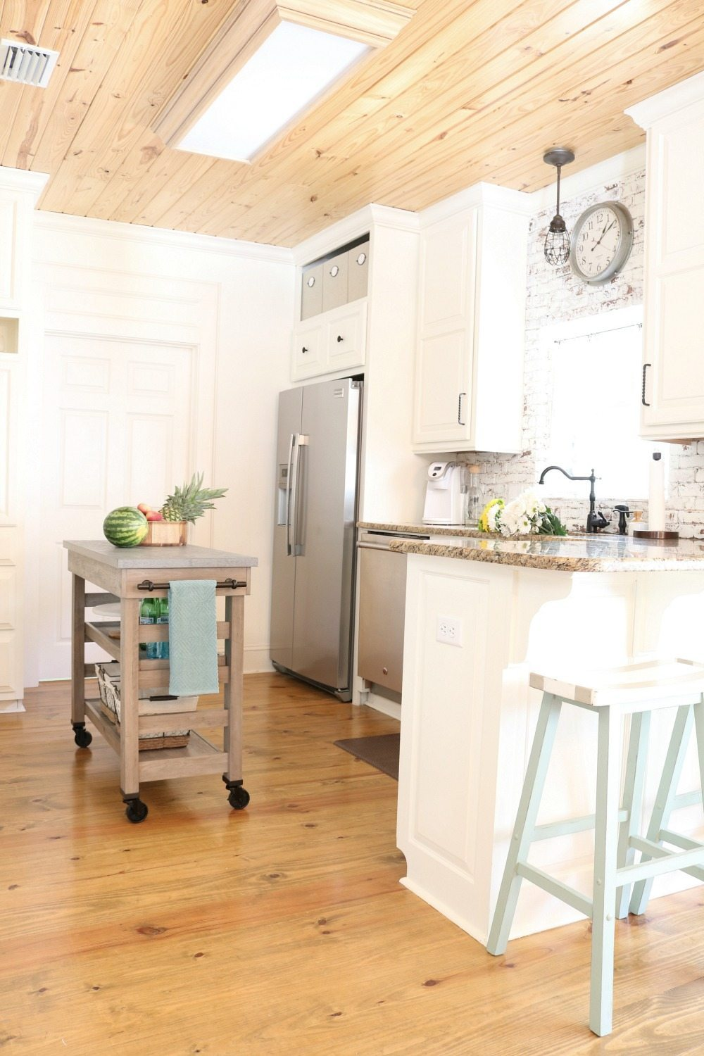 Happy kitchen makes it the heart of the home at Refresh Restyle