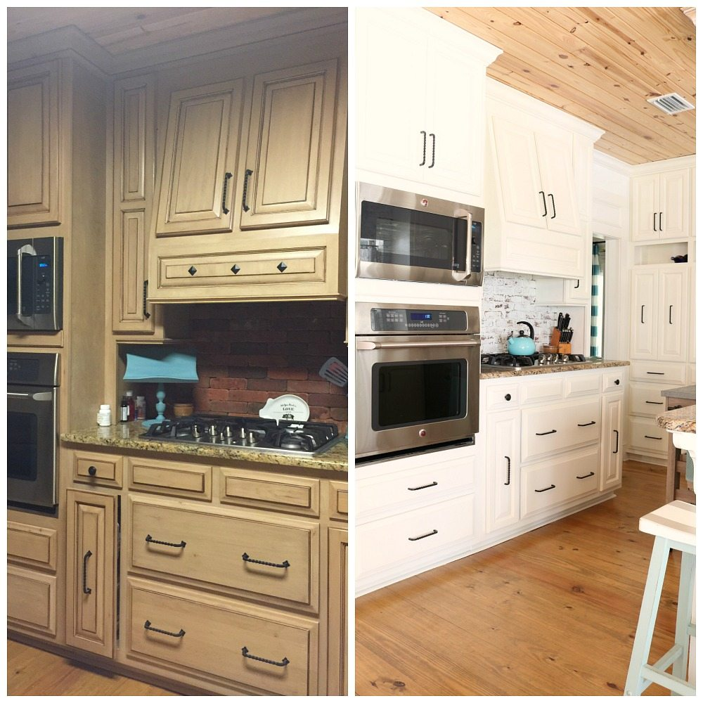 Light and bright kitchen makeover at Refresh Restyle