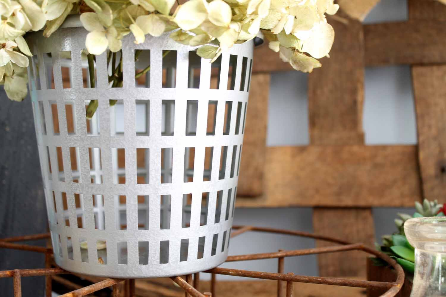 Olive Basket DIY made easy