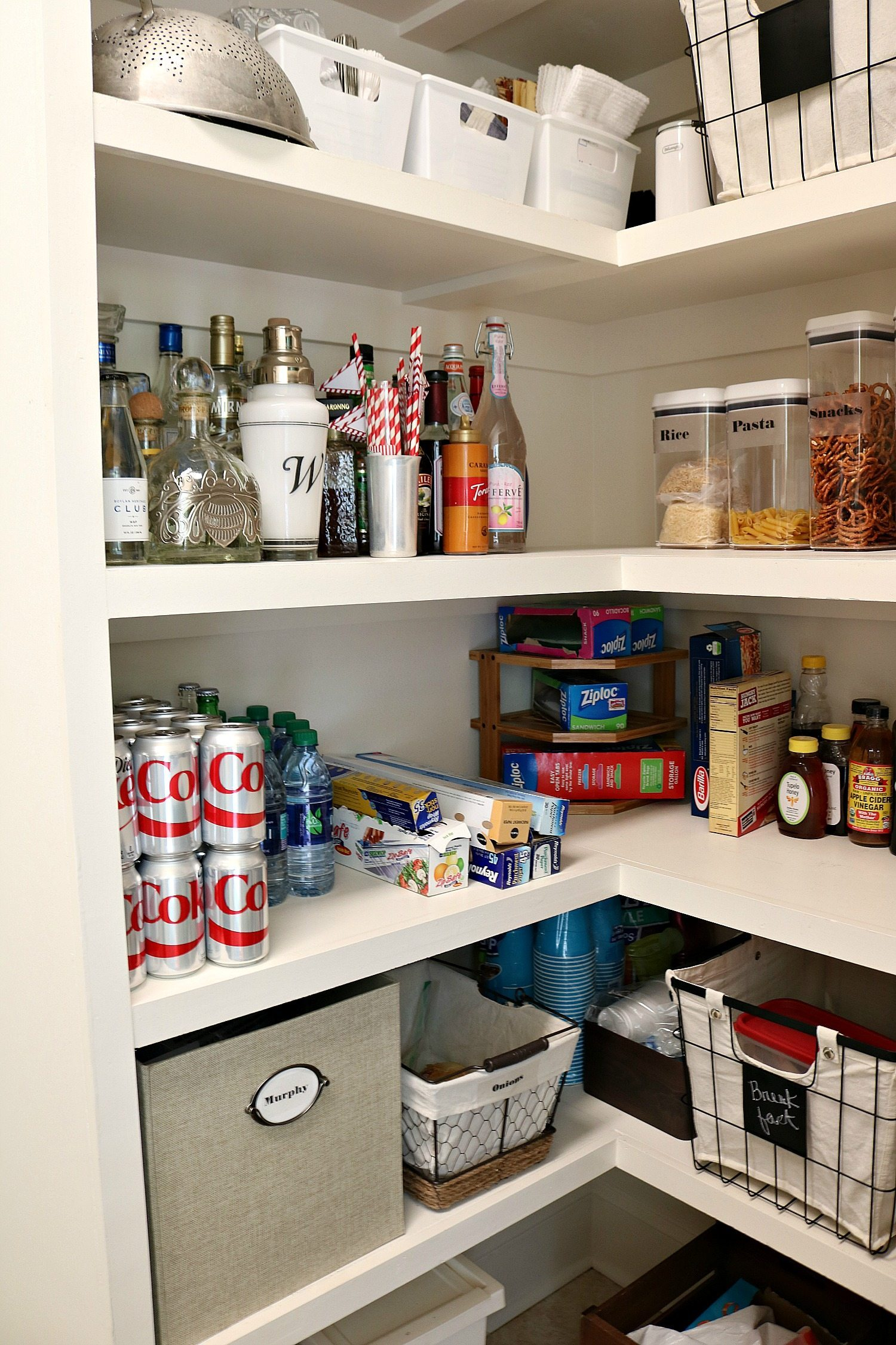 A place for everything when you organize your pantry