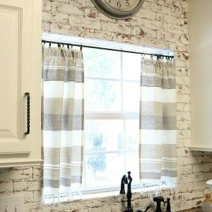 DIY-kitchen-curtain