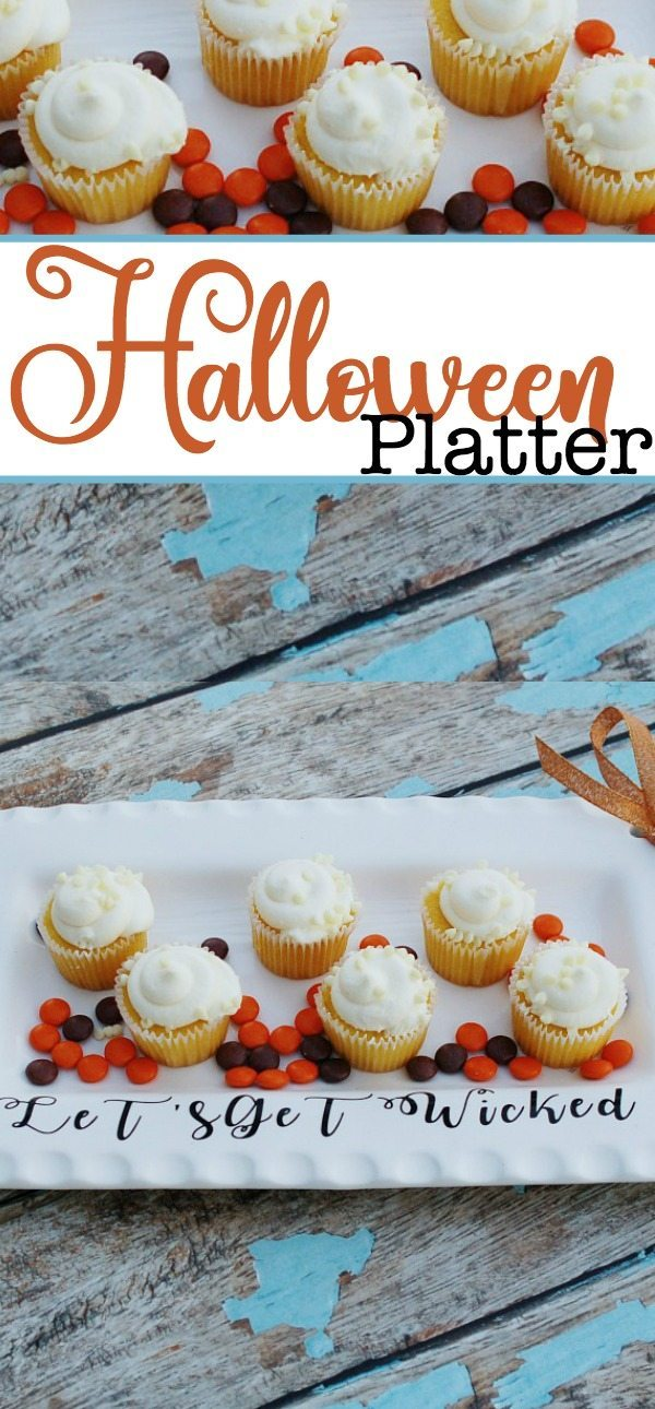 Easy to make Halloween Platter