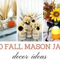 Love these Fall Mason Jar Ideas
