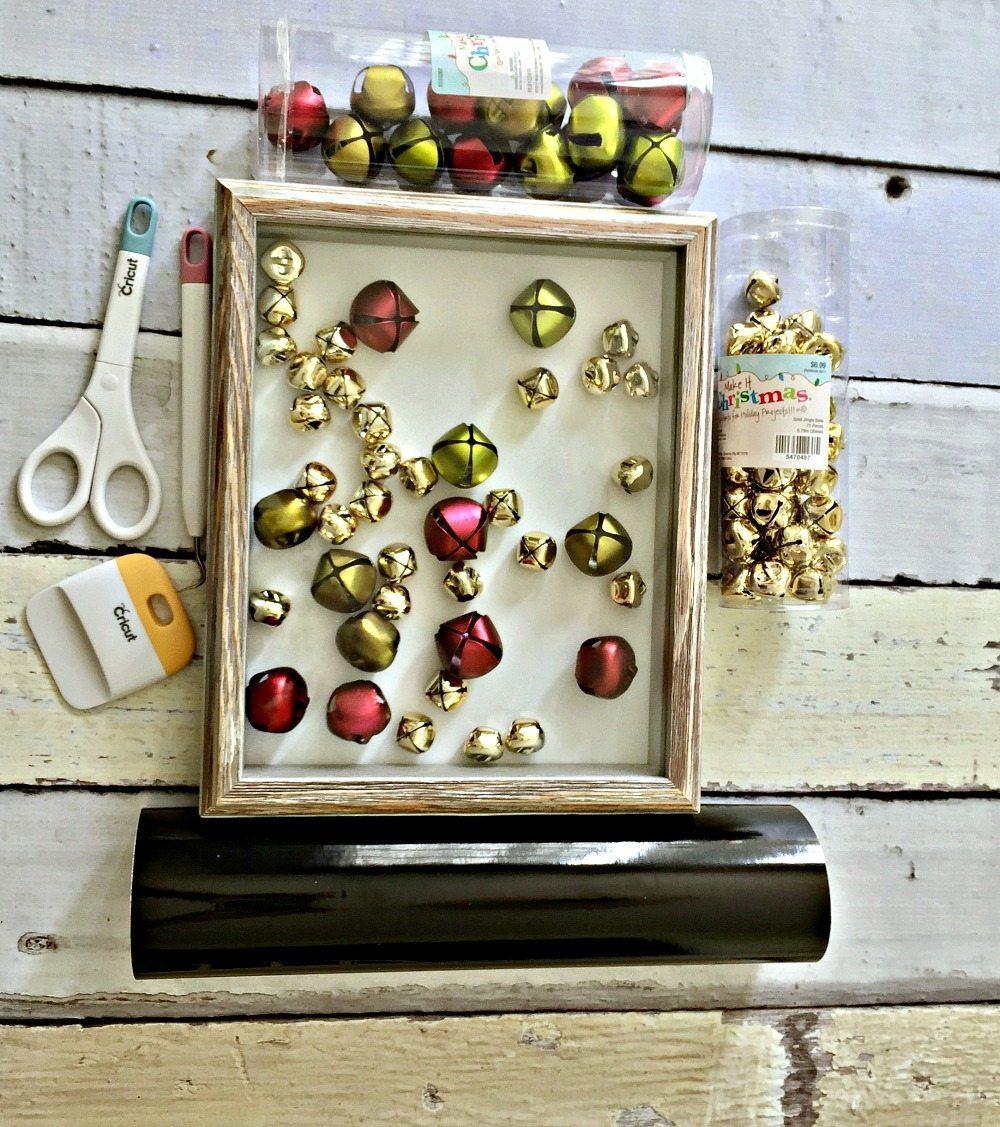 Make this cute Christmas shadow box