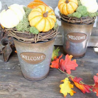 10 Fall Decor Ideas + Inspiration Monday