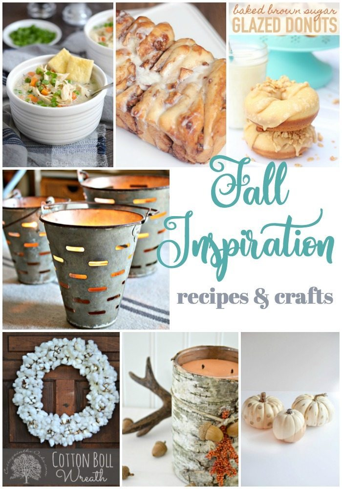 fall inspiration with recipes and crafts