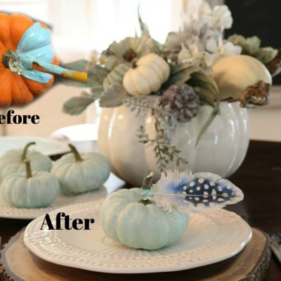 How to clean and paint any pumpkin any color