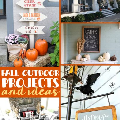 Outdoor Fall Ideas + Inspiration Monday