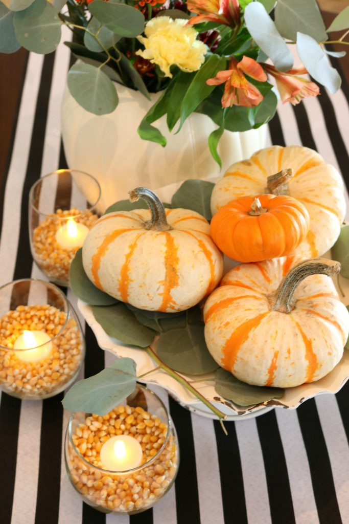 10 minute idea for your fall table