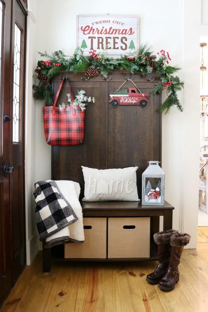 Buffalo Plaid Christmas Decor | Refresh Restyle