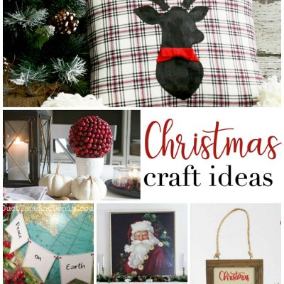 Christmas Craft Ideas + Inspiration Monday