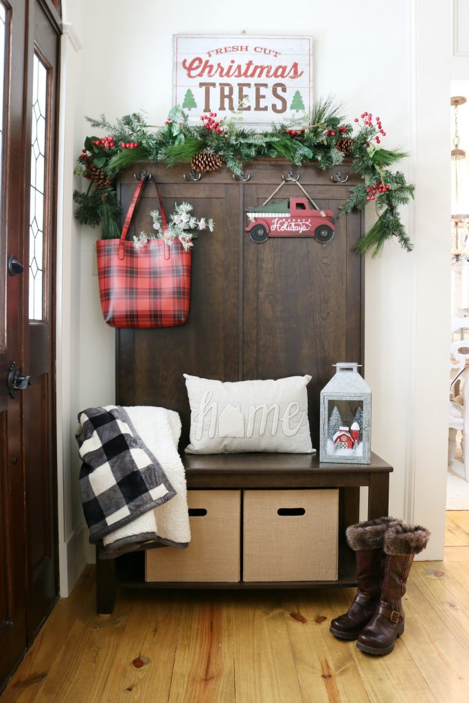 Create a warm and welcoming entry on a budget