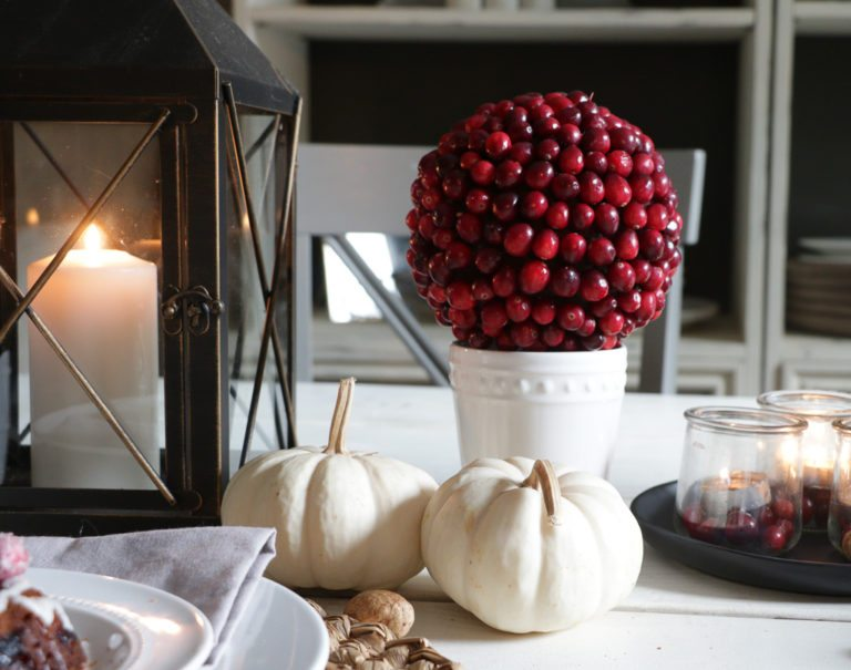 Cranberry Topiary