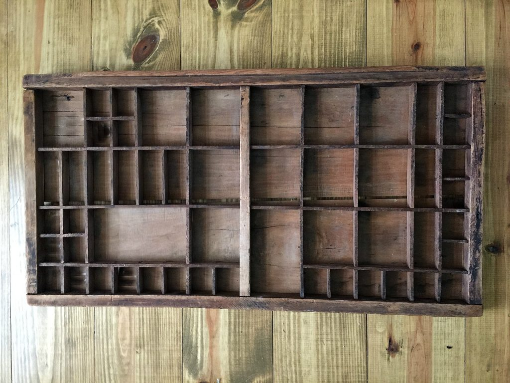 Old printers tray is now an advent calendar