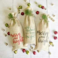 Wine bags make great Christmas gifts