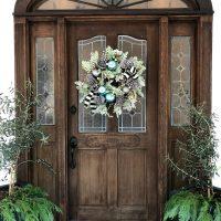 10 Minute wreath idea for Christmas
