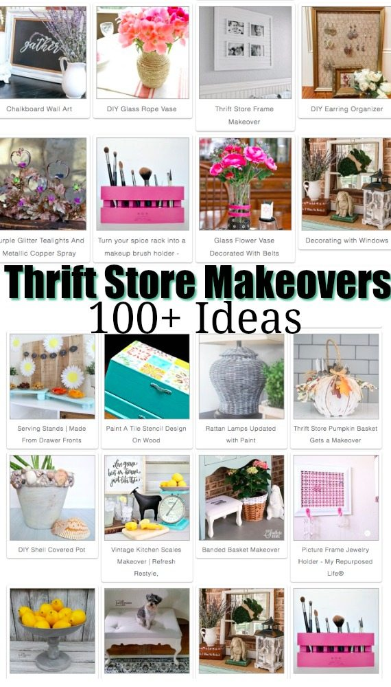 100 ideas for thrift store makeovers