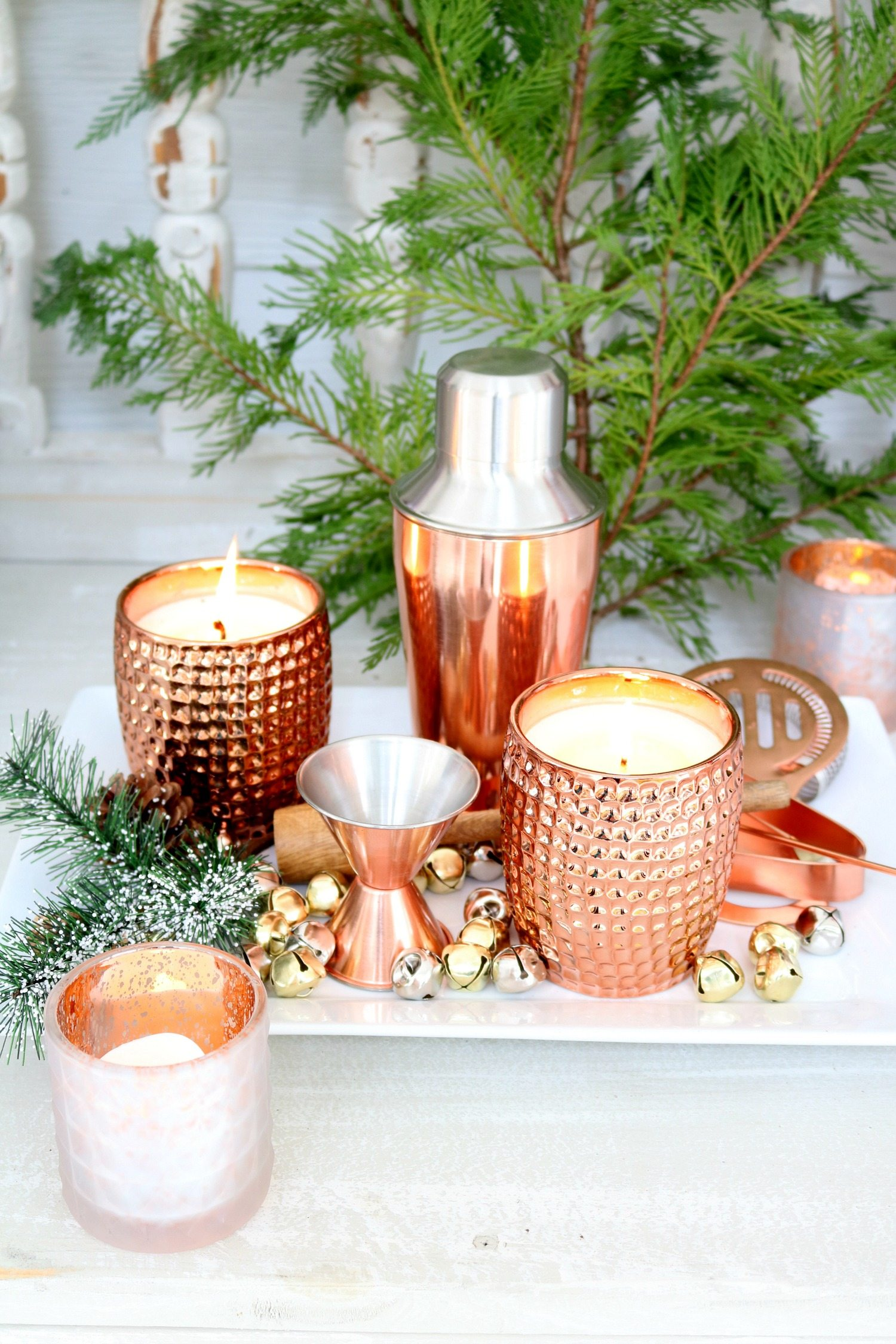 Add a little copper to Christmas