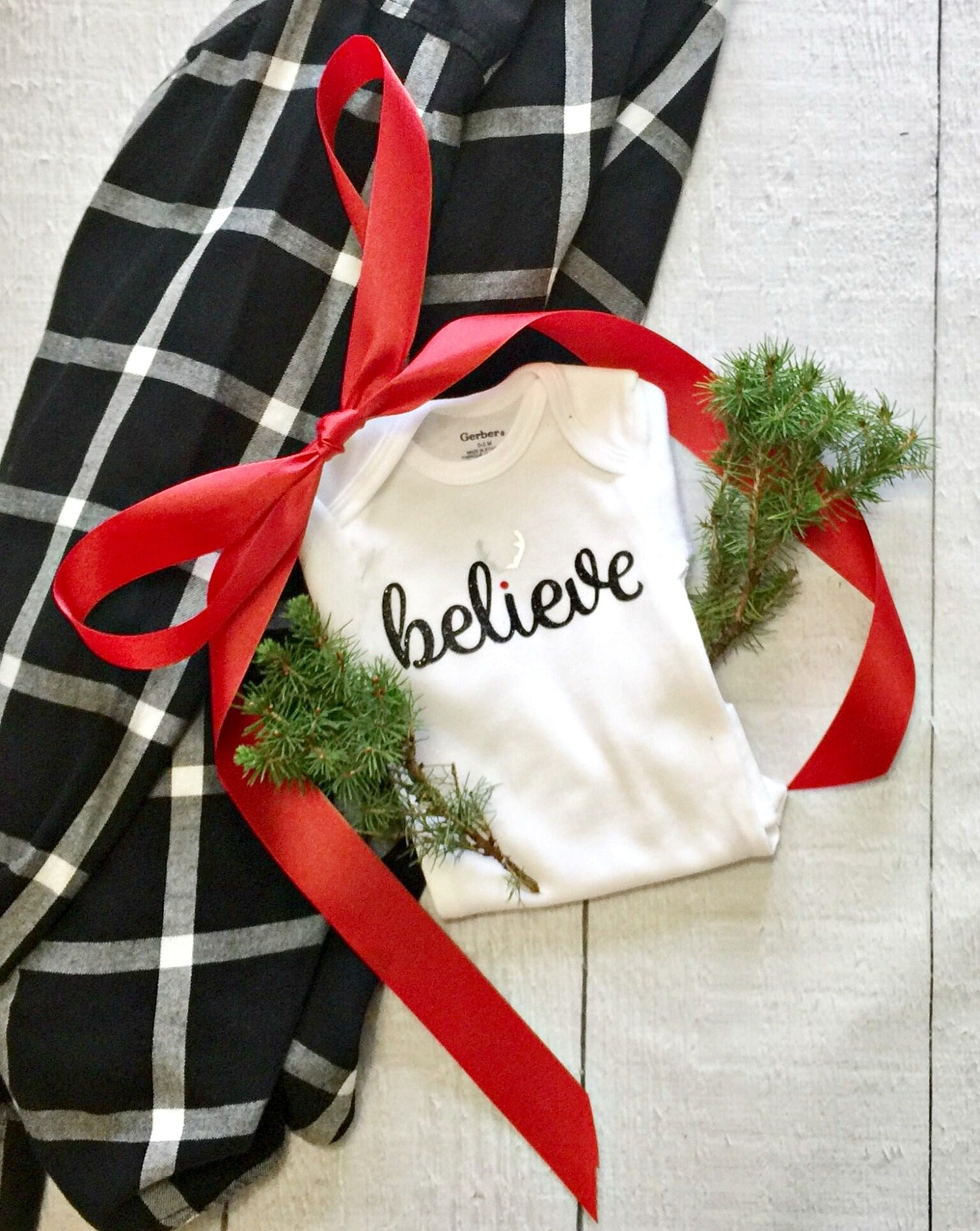 Cutest Christmas onesie