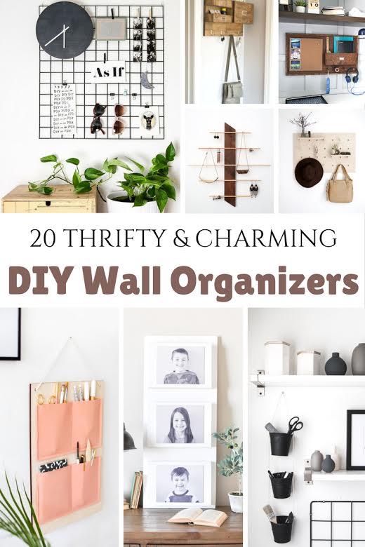 DIY Wall Organizers