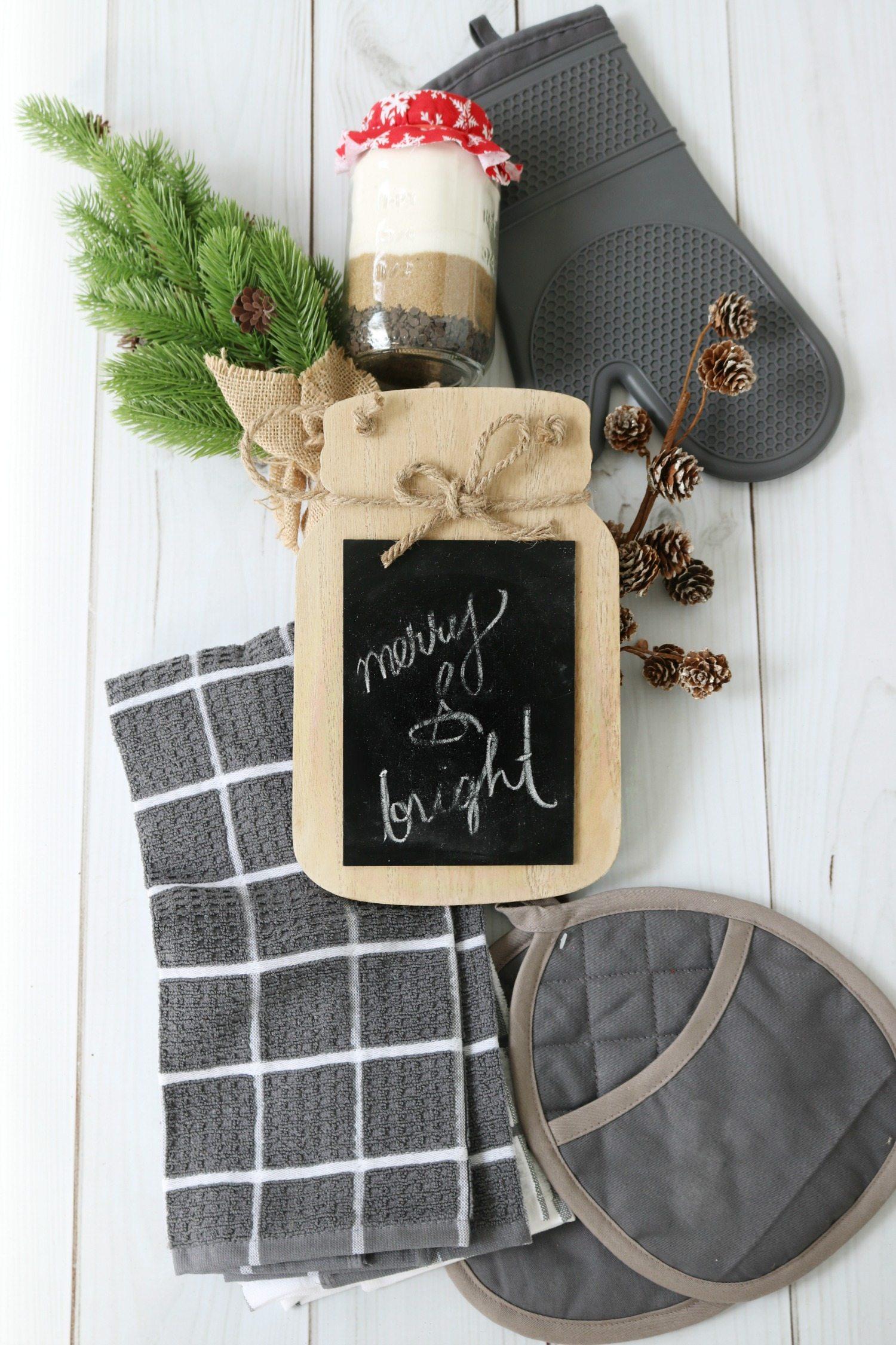 For the baker gift basket