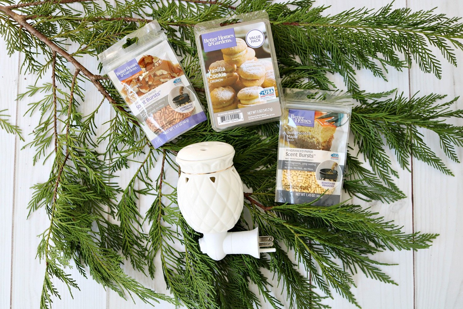 Fresh scents for gift basket