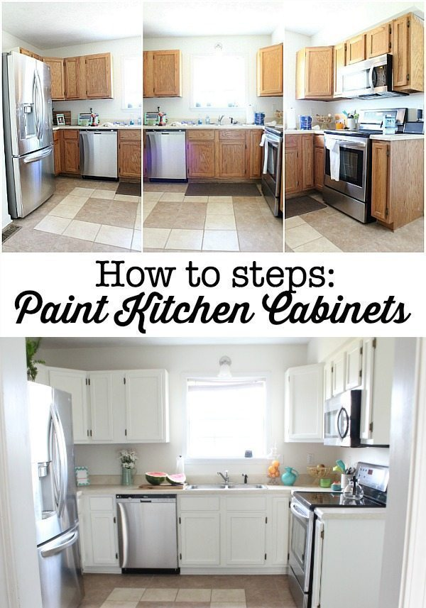 How-to-steps-paint-your-kitchen-cabinets