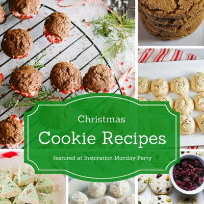 Christmas Cookie Recipes + Inspiration Monday