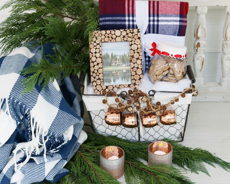 Rustic gift basket idea