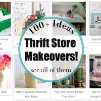 Thrift store makeover you must see over 100 of them