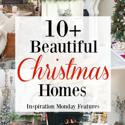 Christmas Home Decorating + Inspiration Monday