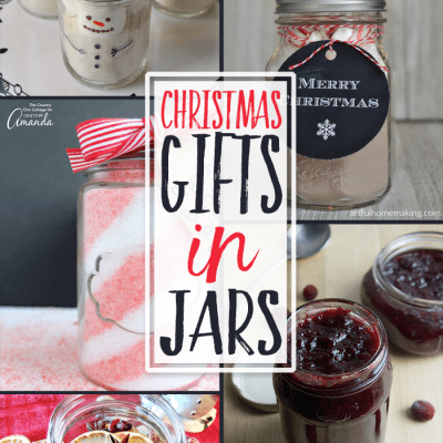 Jar Christmas Gifts + Inspiration Monday