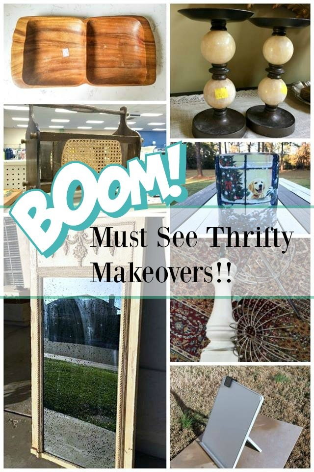 Awesome thrift store makeovers