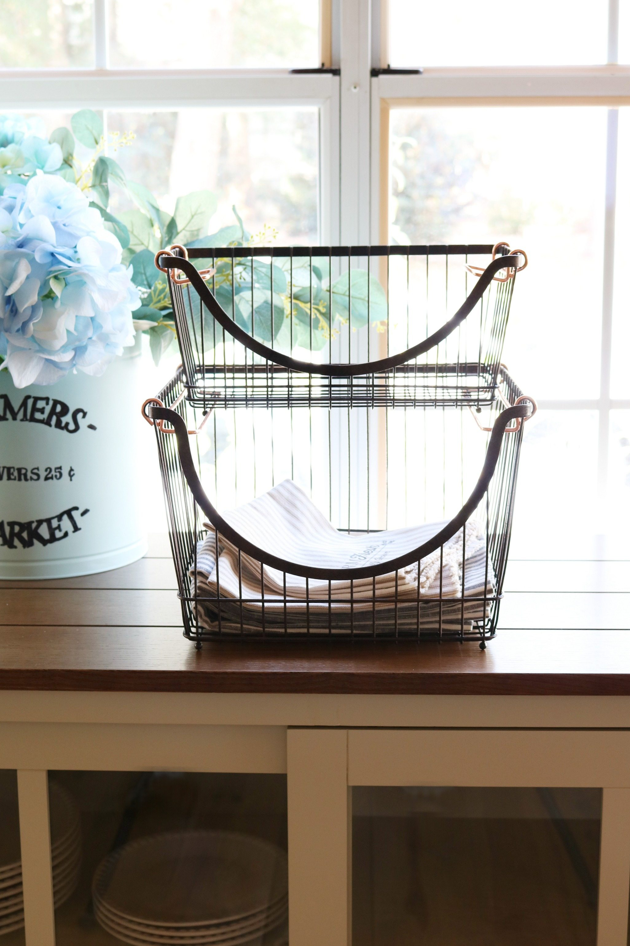 BHG Wire Baskets for Storage