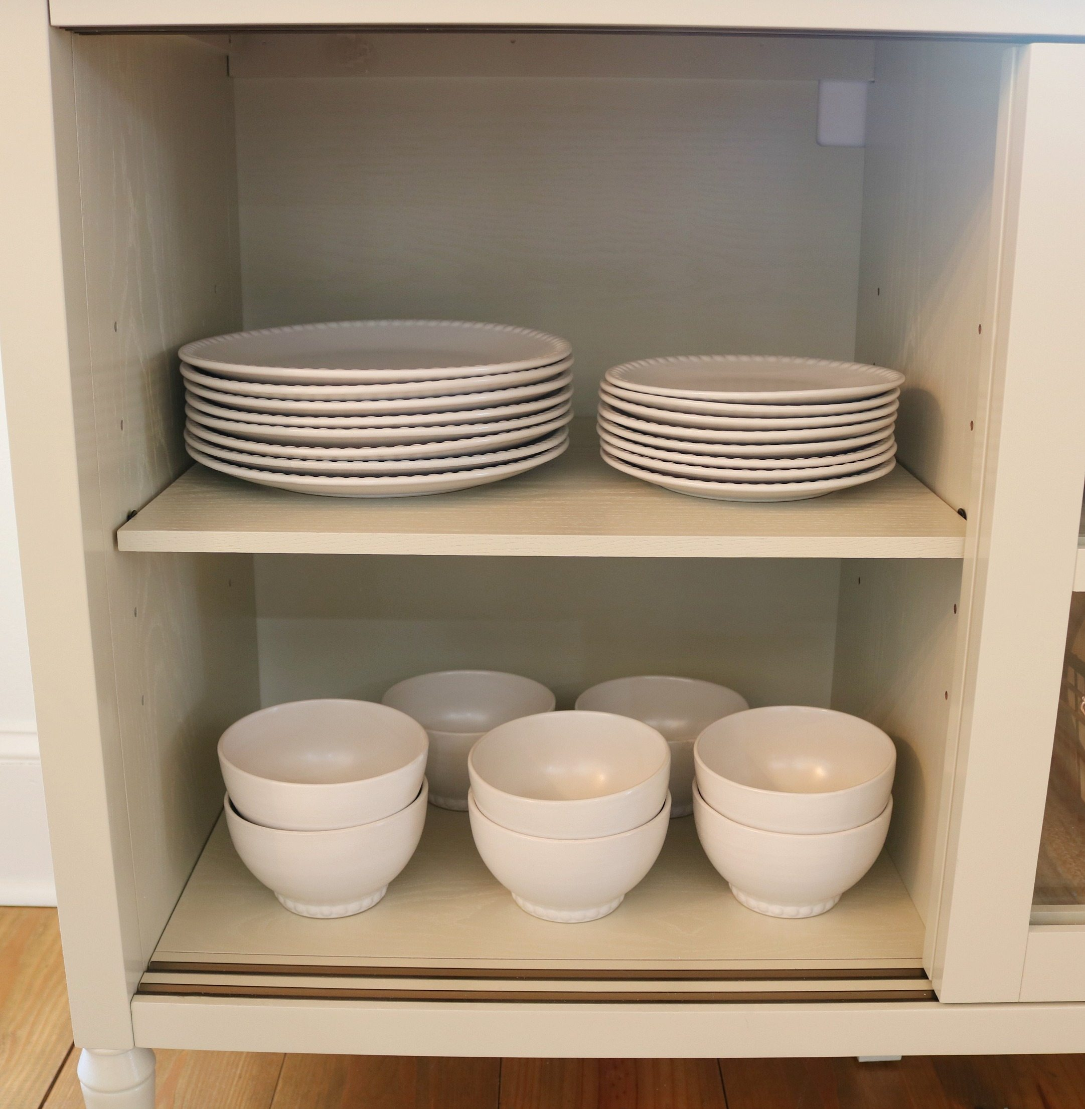 Dining storage perfect for small spaces