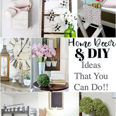 Home Decor & DIY Ideas
