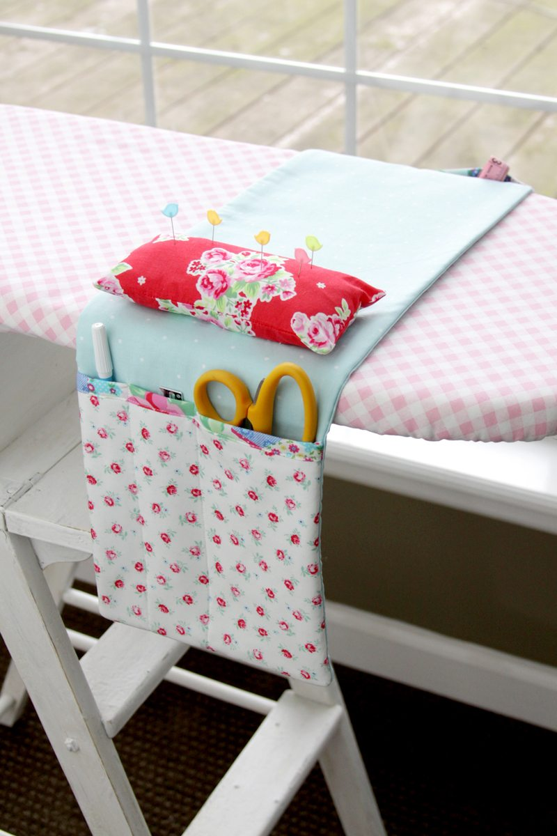 Pretty-Ironing-Board-Organizer Flamingo Toes