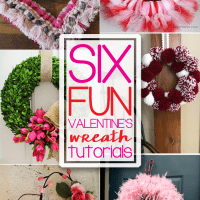 Six Valentine's Wreath Ideas + Inspiration Monday