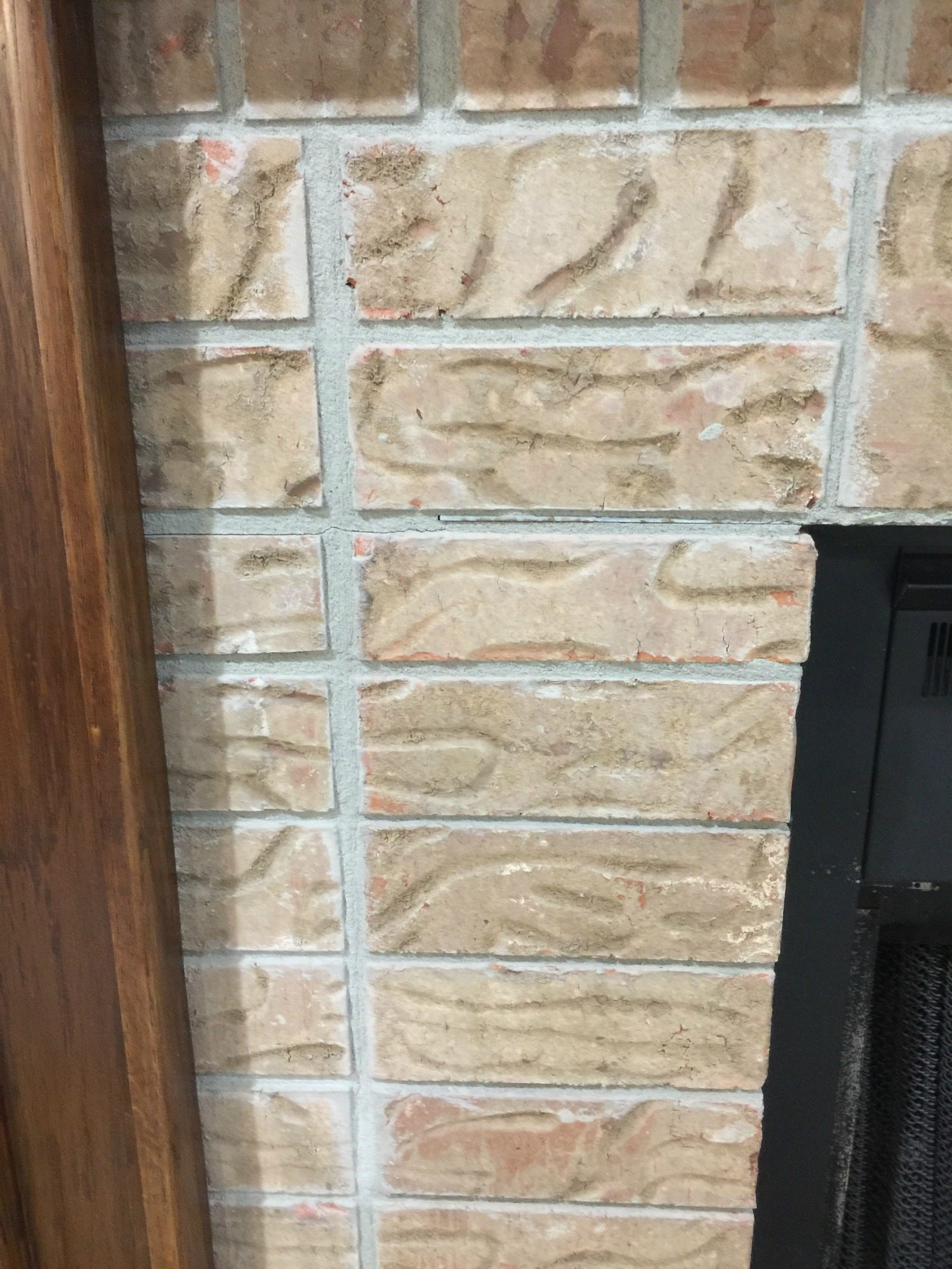 clean to mantel restyle refresh paint fireplace painting how brick your before