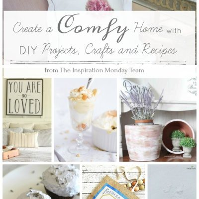 Comfy Home DIY Ideas + Inspiration Monday