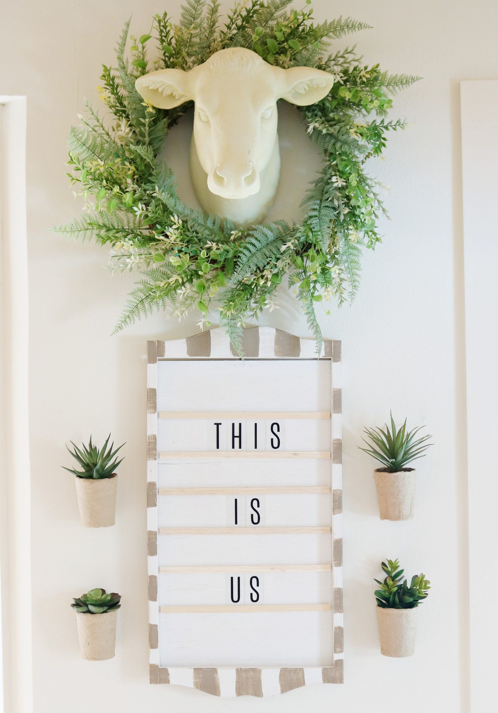 Farmhouse decor this is us sign