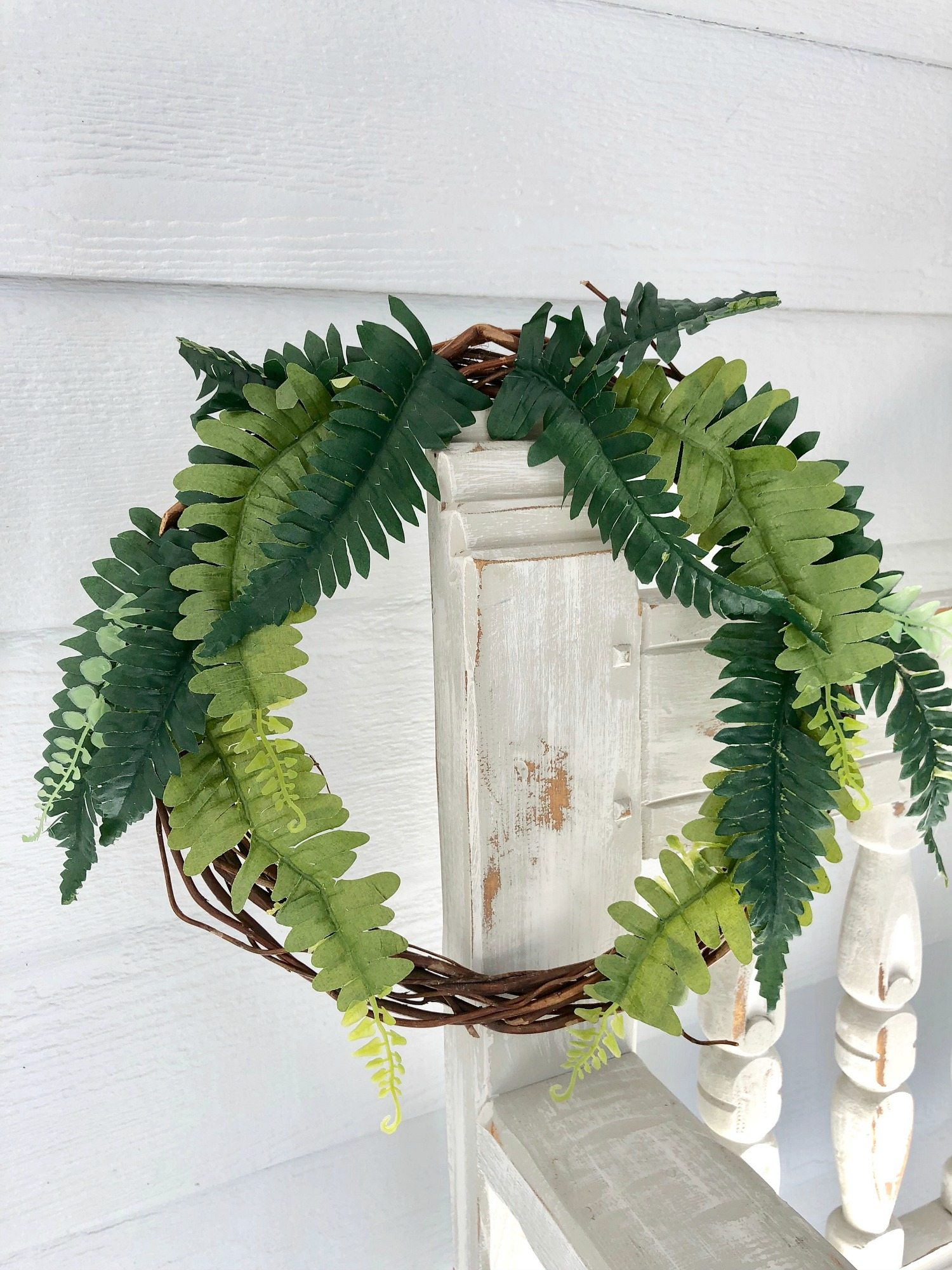 Fern wreath under 3 dollars