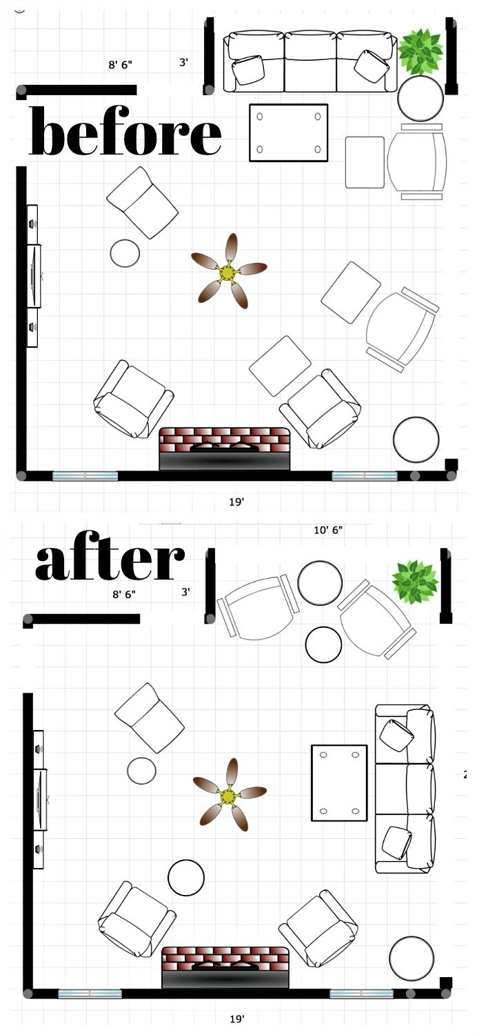 Floor plan with better flow