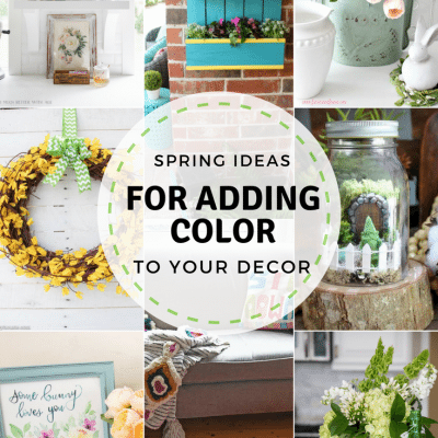 Adding Color to Your Home + Inspiration Monday