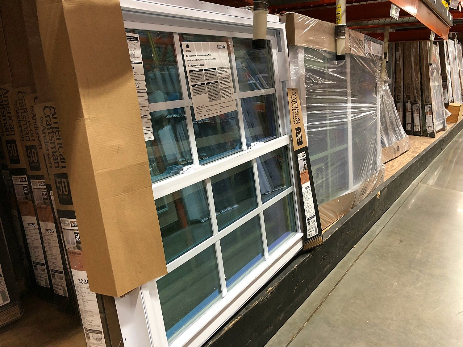 Variety of windows available