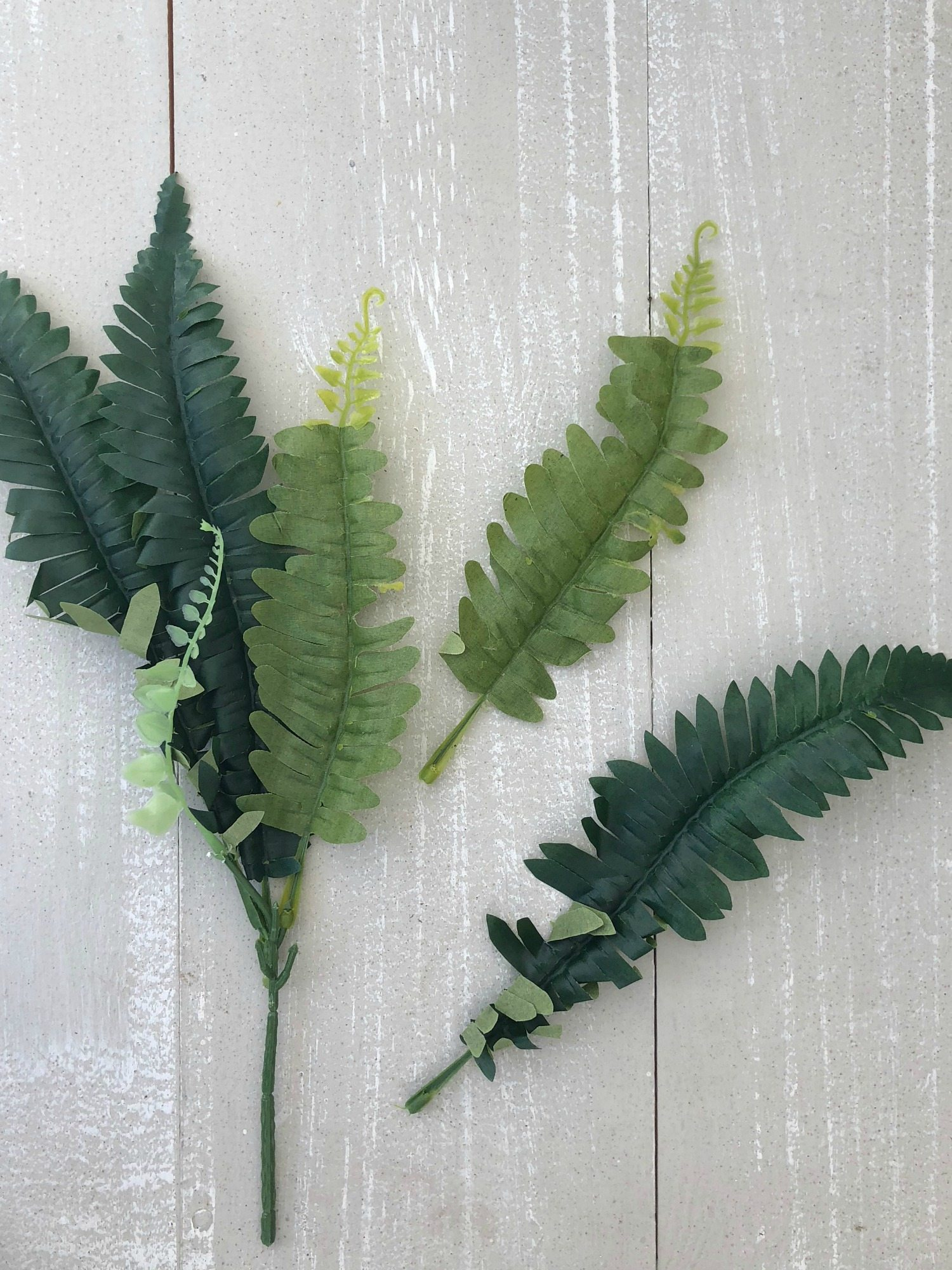 How To Make A Faux Fern Wreath Refresh Restyle