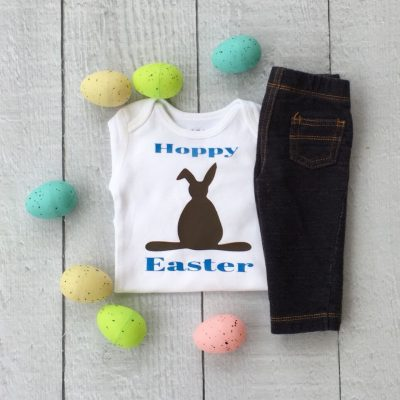 CHOCOLATE BUNNY Cricut Vinyl Shirt