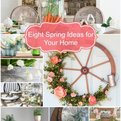 Spring Ideas + Inspiration Monday