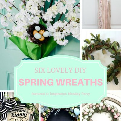 Six Spring Wreaths To Make + Inspiration Monday
