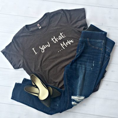 How to Make a Mom T-Shirt